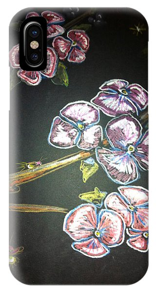 Fireflies And Dogwood IPhone Case