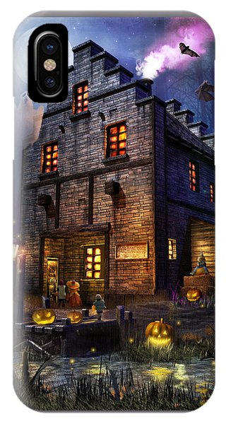 Gothic iPhone Case - Firefly Inn Halloween Edition by Joel Payne