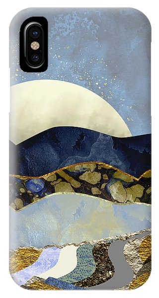 Abstract Landscape iPhone Case - Firefly Sky by Katherine Smit