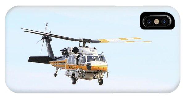 Firehawk In Flight IPhone Case
