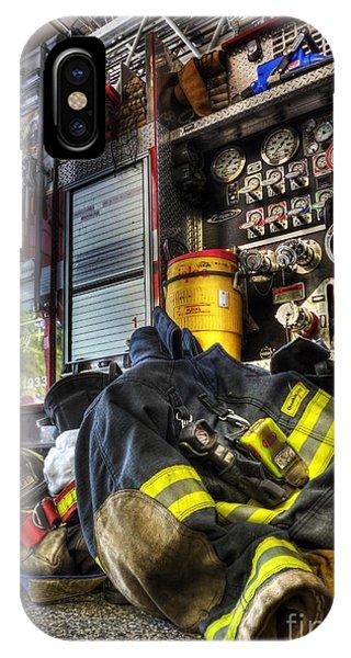 Fireman - Always Ready For Duty IPhone Case