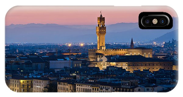 Firenze At Sunset IPhone Case