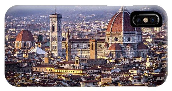 Firenze E Il Duomo IPhone Case