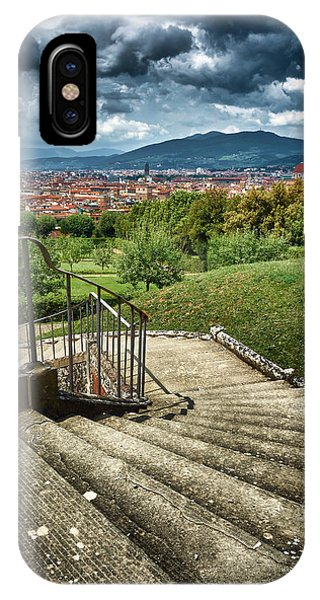 Firenze From The Boboli Gardens IPhone Case