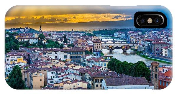 Firenze Sunset IPhone Case