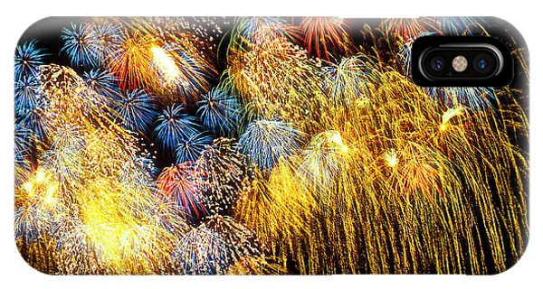 Fireworks Exploding  IPhone Case