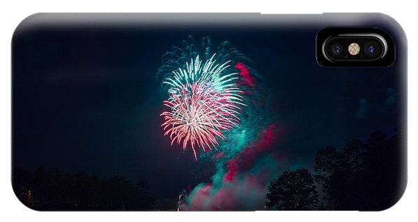 Fireworks In The Country IPhone Case