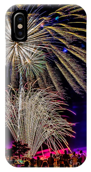 Fireworks In The Park IPhone Case