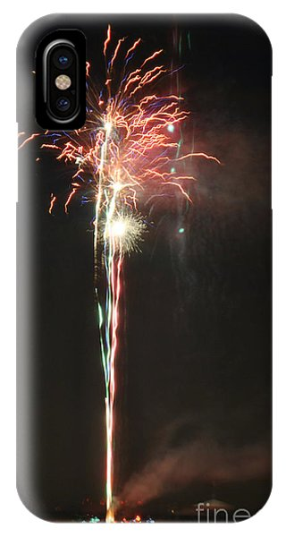 Fireworks On The Lake IPhone Case