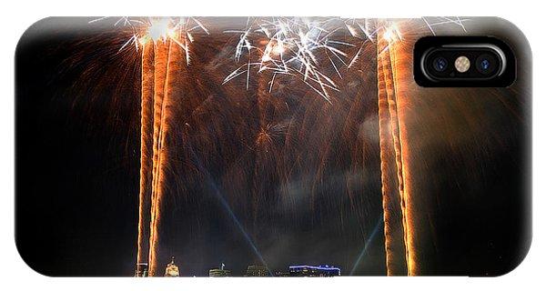 Fireworks Over Cincinnati IPhone Case