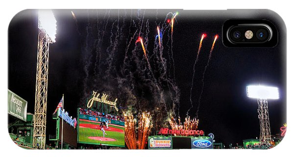 Fireworks Over Fenway Park - Boston IPhone Case