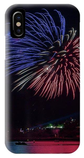Fireworks Over Portland, Maine IPhone Case
