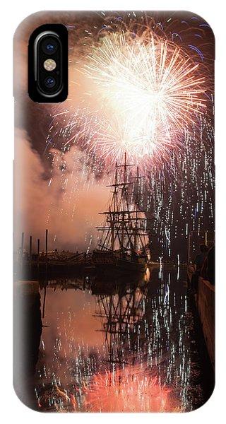 Fireworks Rain Down On Salems Friendship IPhone Case