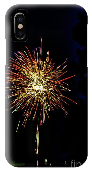 IPhone Case featuring the photograph Fireworks by William Norton