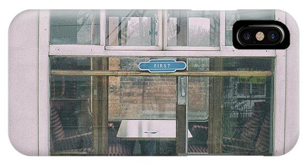 Passenger Train iPhone Case - First Class by Martin Newman