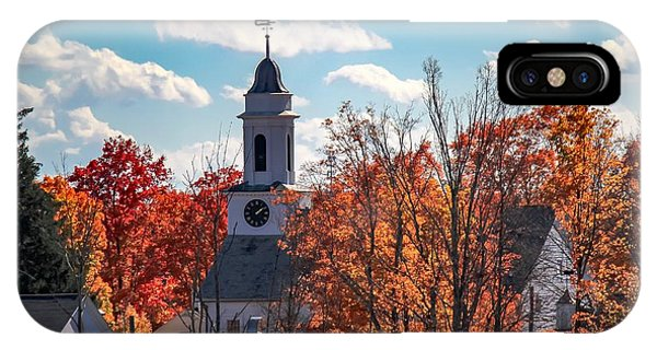 First Congregational Church Of Southampton IPhone Case