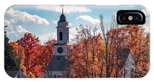 IPhone Case featuring the photograph First Congregational Church Of Southampton by Sven Kielhorn