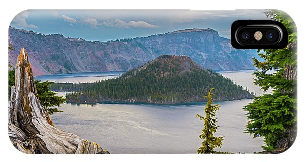 First Crater View IPhone Case