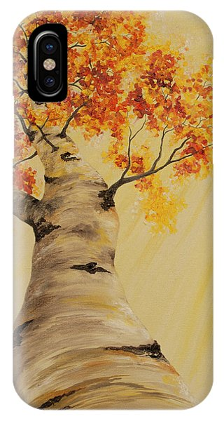 First Fall Light IPhone Case
