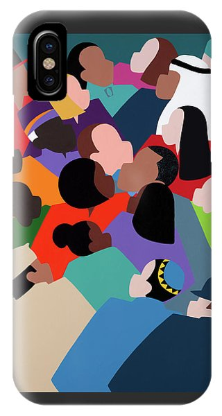 iPhone X Case - First Family The Obamas by Synthia SAINT JAMES