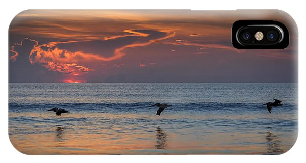 IPhone Case featuring the photograph First Flight First Light by Steven Sparks