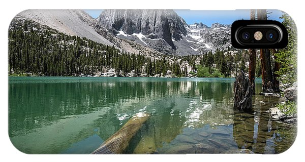 First Lake Reflection IPhone Case