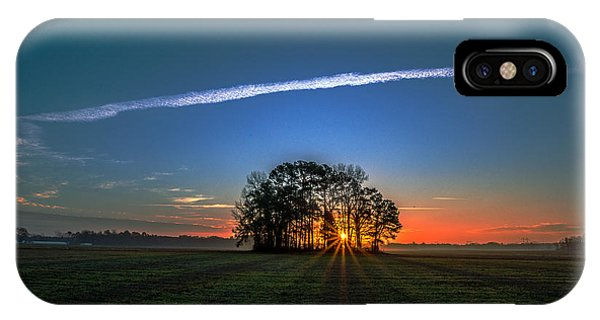 First Light At Center Grove IPhone Case