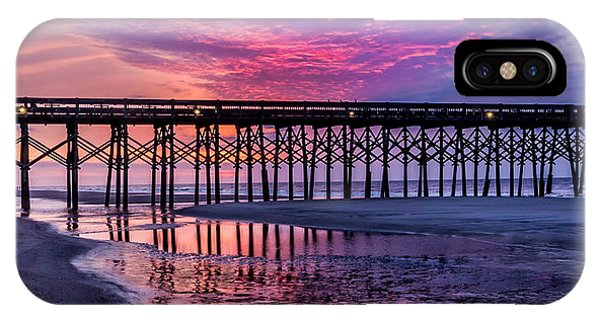 First Light At The Pier IPhone Case