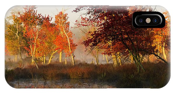 First Light At The Pine Barrens IPhone Case