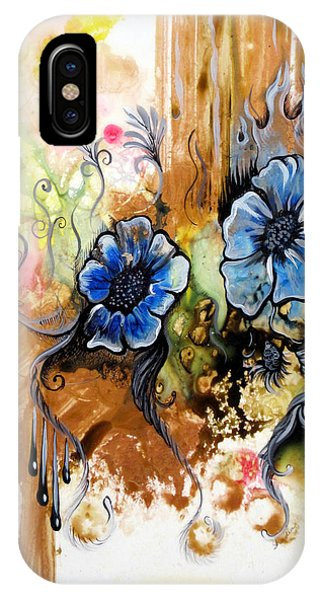 Growth iPhone Case - First Light In The Garden Of Eden II by Shadia Derbyshire