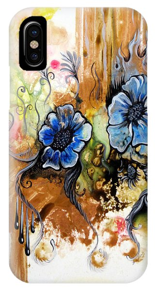 Airbrush iPhone Case - First Light In The Garden Of Eden II by Shadia Derbyshire