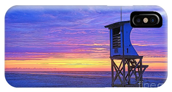 First Light On The Beach IPhone Case