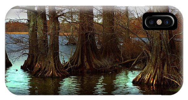 First Rays At Reelfoot IPhone Case