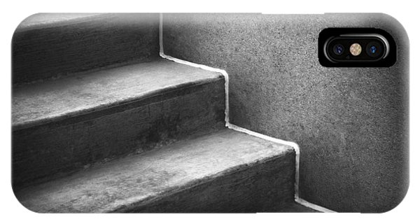 Staircase iPhone Case - First Steps Toward by Scott Norris