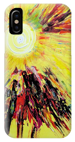 First Sun IPhone Case