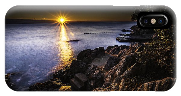 First Rays Over The Adriatic IPhone Case