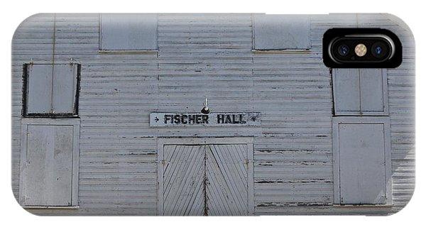 Fischer Dance Hall IPhone Case