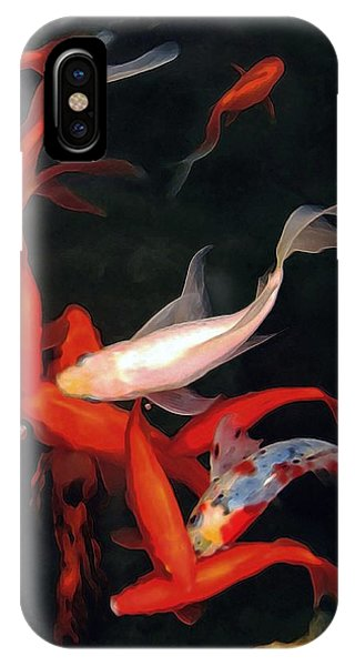 Fish Ballet IPhone Case