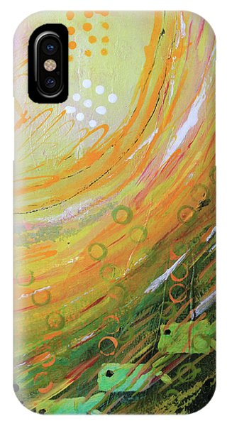 Fish In A Green Sea IPhone Case