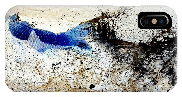 Fish In Rapids IPhone Case