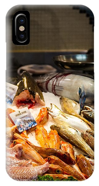 IPhone Case featuring the photograph Fish Market by Jason Smith