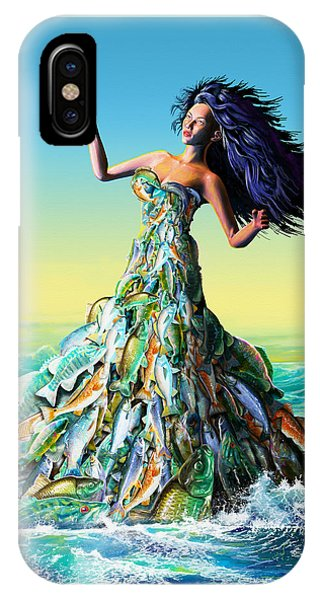 Fish Queen IPhone Case