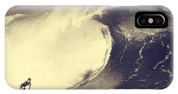 Surf iPhone Case - Fisher Heverly At Pipeline by Paul Topp