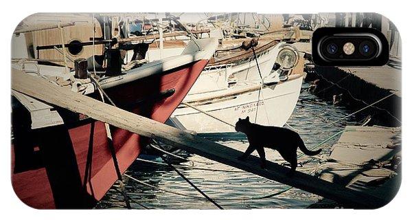 Fisherman's Cat  IPhone Case
