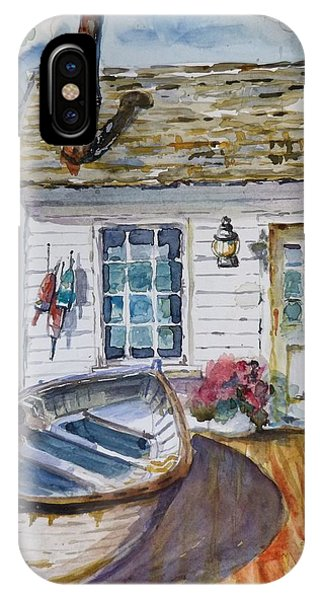 Fisherman's Cottage IPhone Case