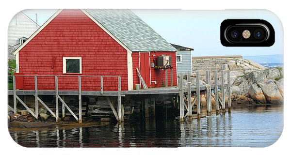 Fishermans House On Peggys Cove IPhone Case