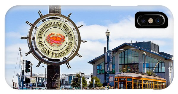 Fishermans Wharf - San Francisco IPhone Case