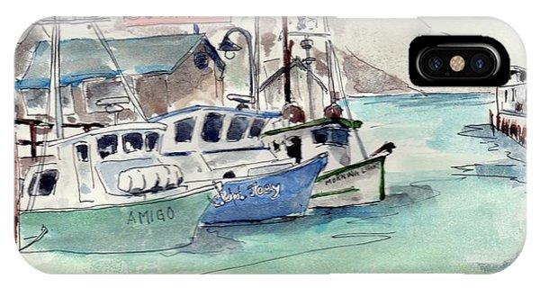 Fishermans Wharf, San Francisco IPhone Case