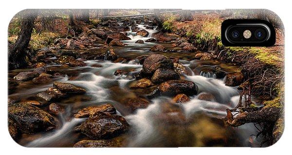Fishhook Creek Waterscape Art By Kaylyn Franks IPhone Case