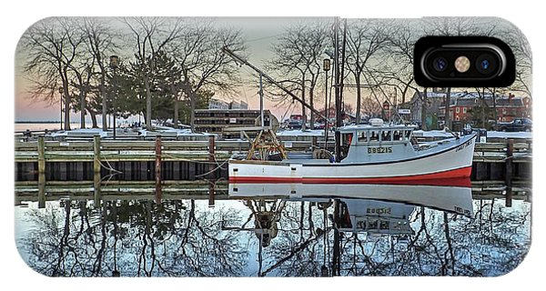 Fishing Boat At Newburyport IPhone Case